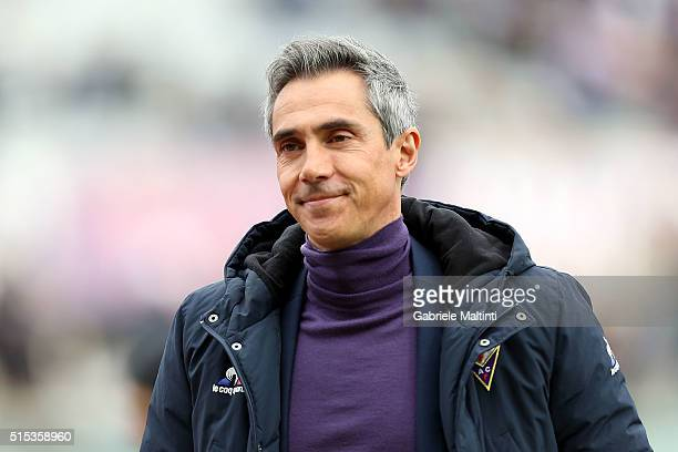 Paulo Sousa manager of ACF Fiorentina during the Serie A match between ACF Fiorentina and Hellas Verona FC at Stadio Artemio Franchi on March 13 2016...
