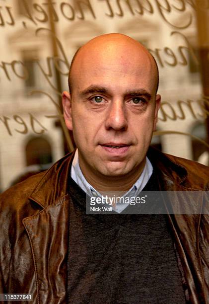 Paulo Virzi director during The Times BFI London Film Festival 2004 Filmmakers Breakfast at Sofitel Hotel in London Great Britain