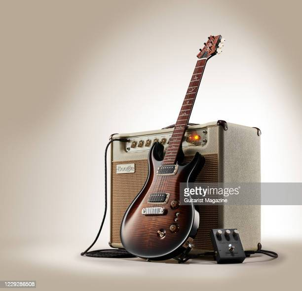 Pauls Guitar, Mesa Engineering California Tweed combo amplifier and a Free The Tone String Slinger SS-1V pedal, taken on November 4, 2019.