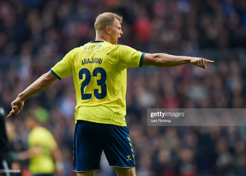 Brondby IF and FC Midtjylland - Danish Cup Final Sydbank Pokalen : News Photo