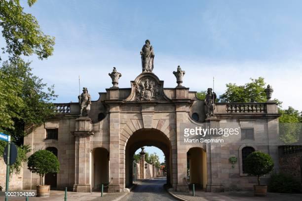 Paulustor Gate, Fulda, Rhoen, Hesse, Germany