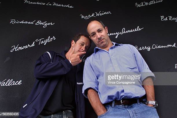 Pauly and Peter Shore sons of Comedy Store owner Mitzi Shore are helping their mother run the club since she is ill these days