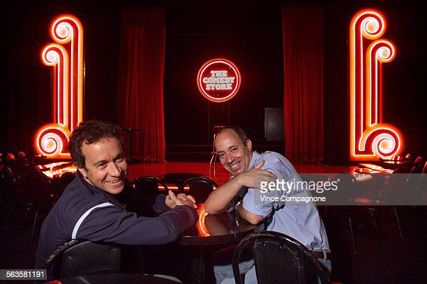 Pauly and Peter Shore sons of Comedy Store owner Mitzi Shore are helping their mother run the club since she is ill these days Pauly and Peter inside...