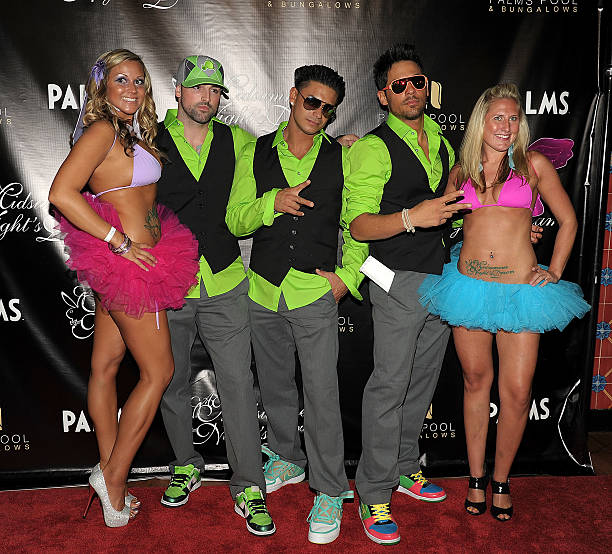 Pauly D and J Roc at  A Midsummer Night s Dream - Enchanted Lingerie  Masquerade  e9bce3a00