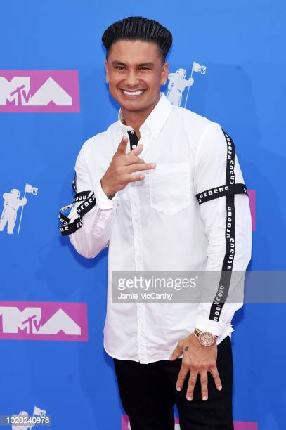 Pauly D attends the 2018 MTV Video Music Awards at Radio City Music Hall on August 20 2018 in New York City