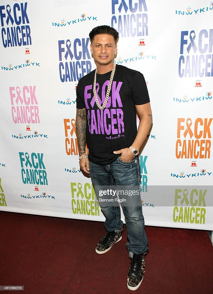 DJ Pauly D attends the F*ck Cancer benefit at Pacha on November 21, 2013 in New York City.