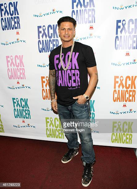 Pauly D attends the F*ck Cancer benefit at Pacha on November 21 2013 in New York City