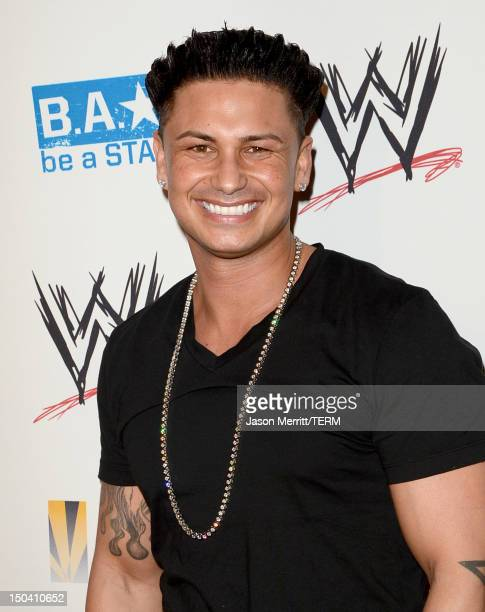 Pauly D attends the WWE SummerSlam VIP Kick-Off Party at Beverly Hills Hotel on August 16, 2012 in Beverly Hills, California.