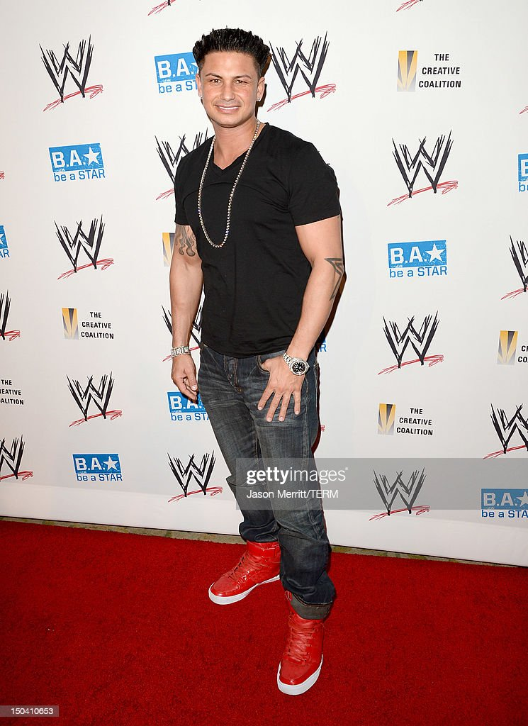 DJ Pauly D attends the WWE SummerSlam VIP Kick-Off Party at Beverly Hills Hotel on August 16, 2012 in Beverly Hills, California.