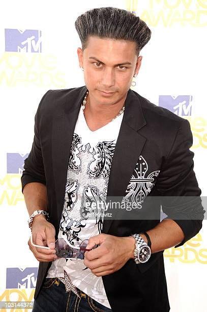 Pauly Del Vecchio arrives at the 2010 MTV Movie Awards at Gibson Amphitheatre on June 6 2010 in Universal City California