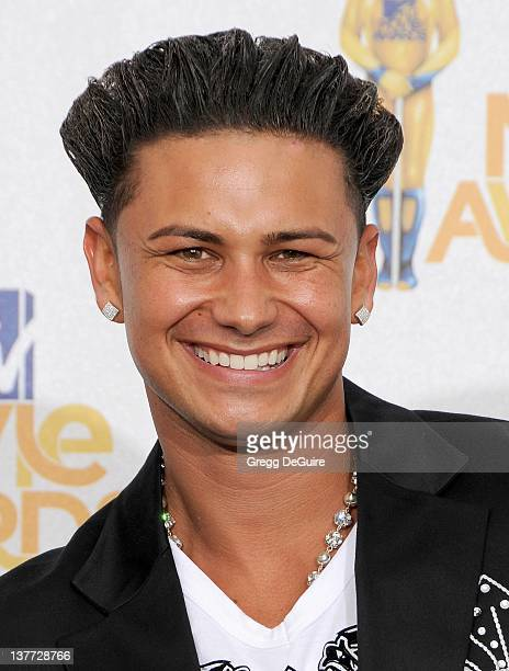 Pauly Del Vecchio in the press room at the 2010 MTV Movie Awards at the Gibson Amphitheatre on June 6, 2010 in Universal City, California.