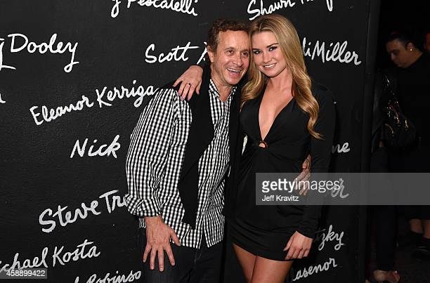 Pauly Shore and Allie Mason at The Comedy Store on November 12 2014 in West Hollywood California