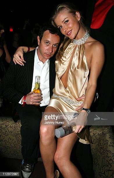 Pauly Shore and Joanna Krupa during Tao Las Vegas New Year's 2007 Celebration Hosted by Pamela Anderson and Pauly Shore Featuring Usher and Jamie...