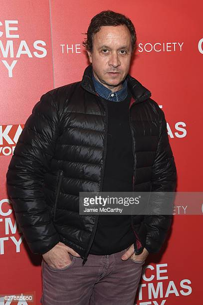 Pauly Shore attends the Paramount Pictures with The Cinema Society Svedka host a screening of 'Office Christmas Party' at Landmark Sunshine Cinema on...
