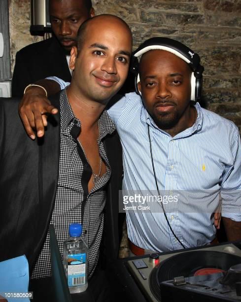 Pavan Pardasani and Jermaine Dupri attend Paval's birthday celebration at SL on June 2 2010 in New York City