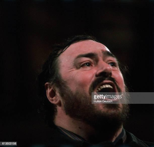 Pavarotti Italian opera singer
