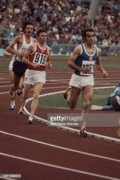 Pavel Andreev competing in the Men's 10000 metres event at the 1972 Summer Olympics / the Games of the XX Olympiad Olympiastadion