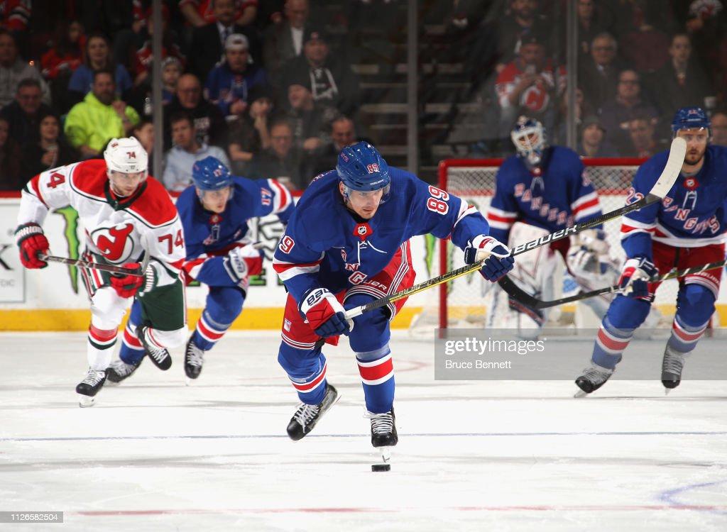 New York Rangers v New Jersey Devils : News Photo