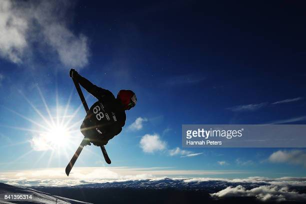 Pavel Chupa of Russia competes during the Winter Games NZ FIS Men's Freestyle Skiing World Cup Halfpipe Finals at Cardrona Alpine Resort on September...