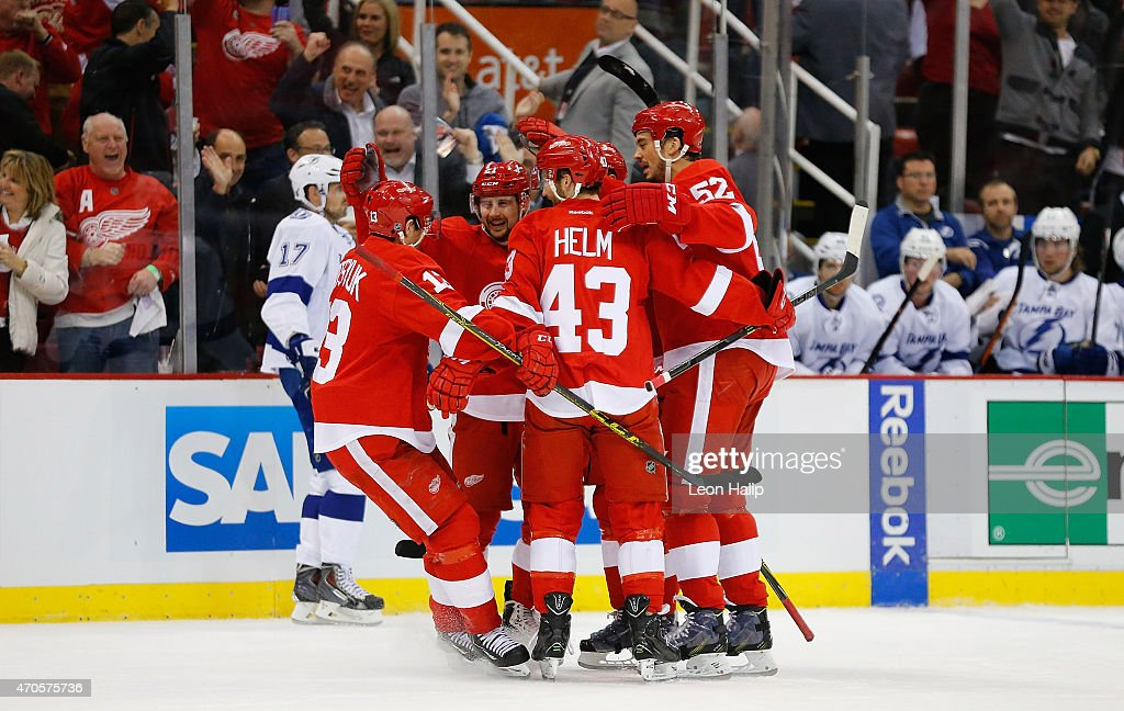 Tampa Bay Lightning v Detroit Red Wings - Game Three