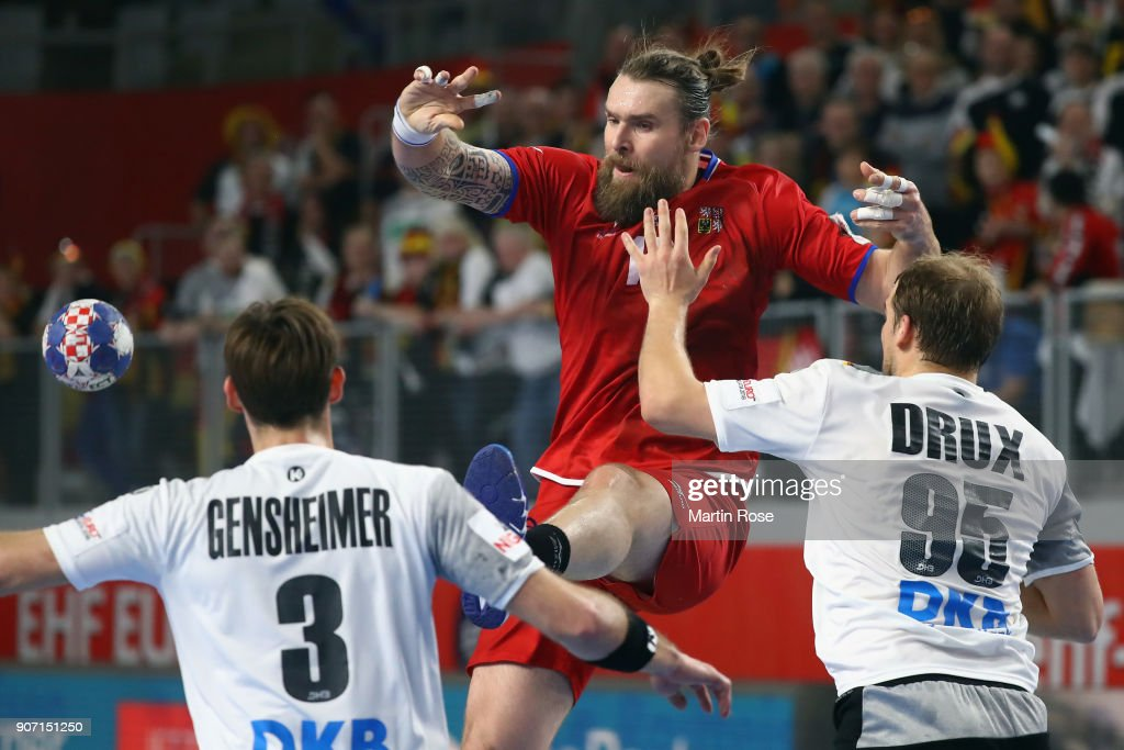 Germany v Czech Republic - EHF Euro Croatia 2018 : News Photo