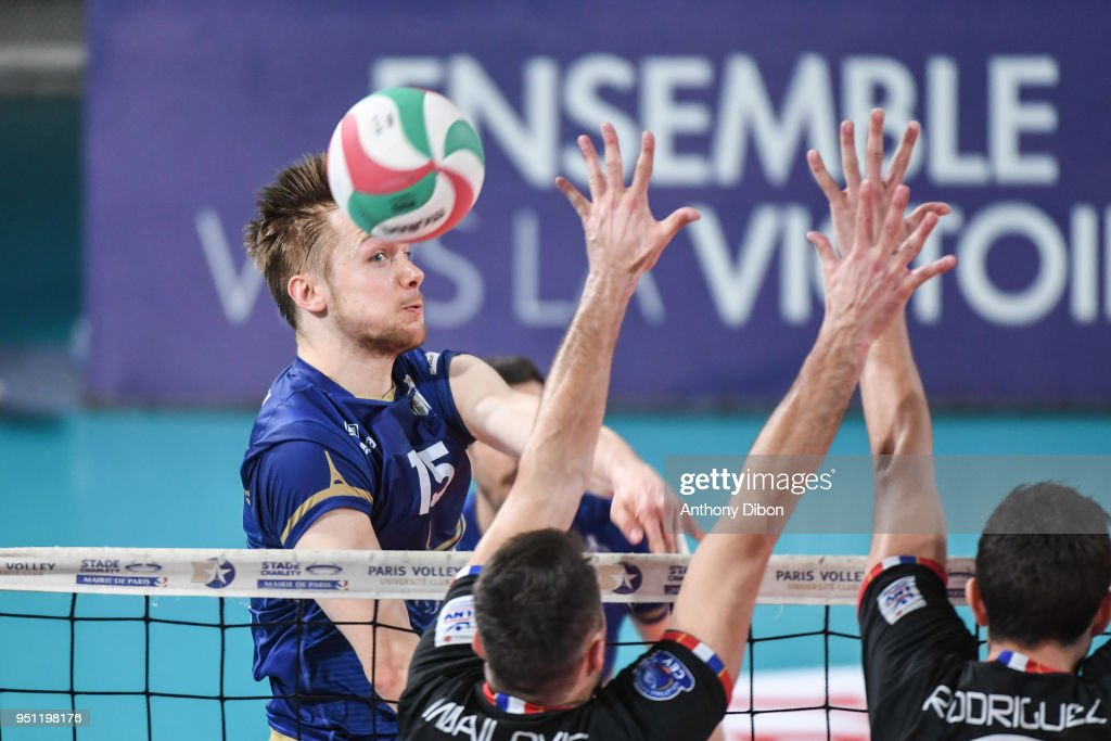 Paris Volley v Chaumont - French Ligue A