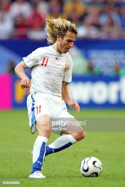 Pavel NEDVED Republique Tcheque / Etats Unis Coupe du Monde 2006 Gelsenkirchen Allemagne