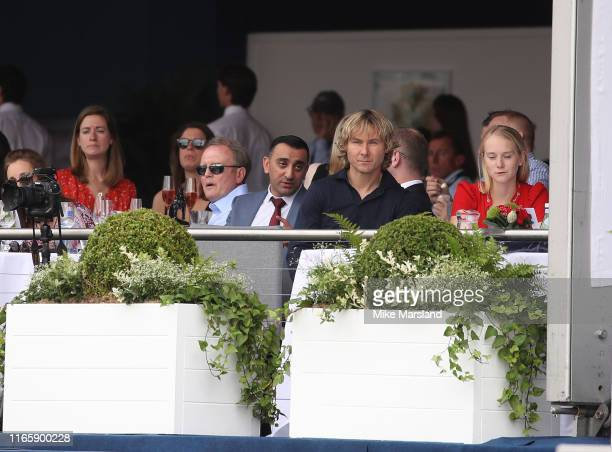 Pavel Nedved attends the Longines Global Champions Tour of London 2019 at Royal Hospital Chelsea on August 03, 2019 in London, England.