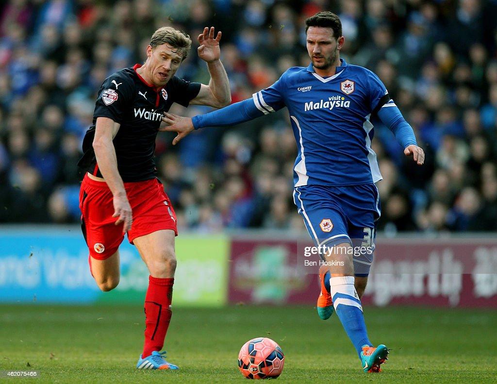 Cardiff City v Reading - FA Cup Fourth Round : News Photo