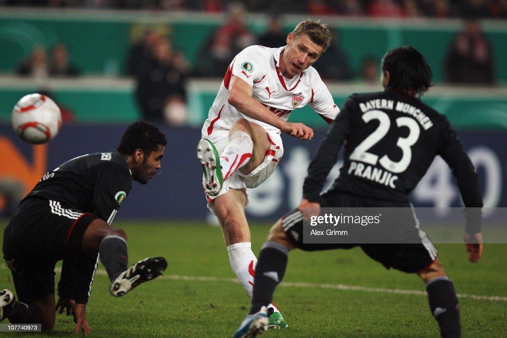 VfB Stuttgart v FC Bayern Muenchen - DFB Cup