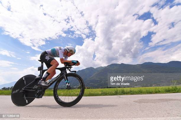 Pavel Sivakov of Rusia and Team Sky / during the 82nd Tour of Switzerland 2018, Stage 9 a 34,1km individual time trial stage from Bellinzona to...