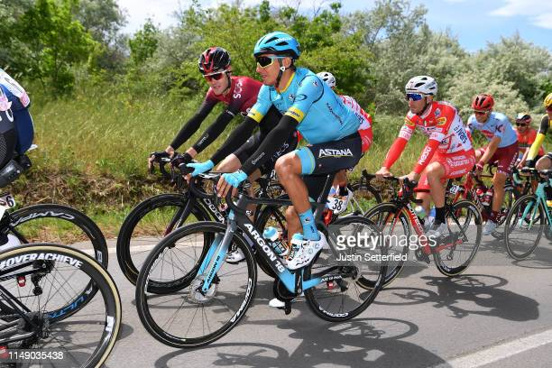 Pavel Sivakov of Russia and Team INEOS / Andrey Zeits of Kazahkstan and Astana Pro Team / during the 102nd Giro d'Italia 2019, Stage 4 a 235km stage...