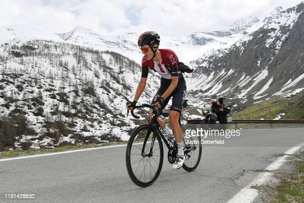 Pavel Sivakov of Russia and Team INEOS / Ceresole Reale / Landscape / Mountains / Snow / during the 102nd Giro d'Italia 2019, Stage 13 a 196km stage...