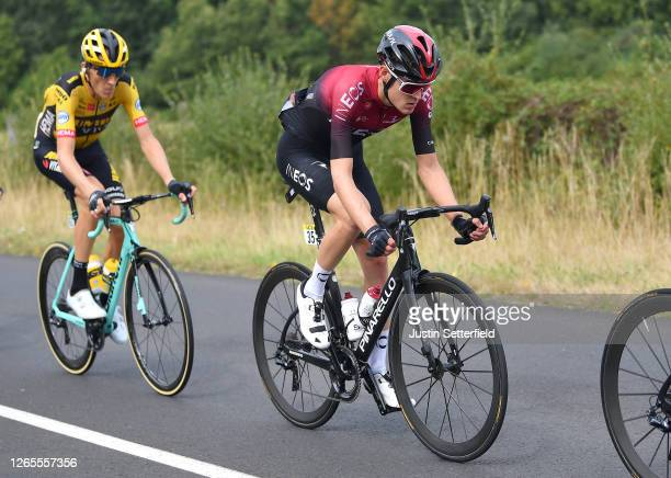 Pavel Sivakov of Russia and Team Ineos / during the 72nd Criterium du Dauphine 2020, Stage 1 a 218,5km stage from Clermont Ferrand to Saint Christo...