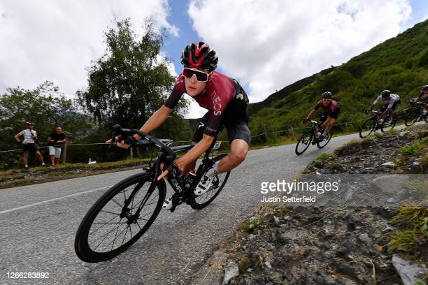 Pavel Sivakov of Russia and Team Ineos / Geraint Thomas of The United Kingdom and Team Ineos / Egan Arley Bernal Gomez of Colombia and Team Ineos...