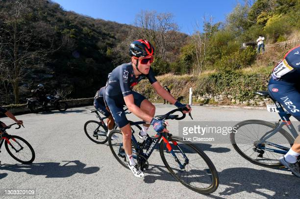 Pavel Sivakov of Russia and Team INEOS Grenadiers during the 53rd Tour Des Alpes Maritimes Et Du Var, Stage 3 a 134,7km stage from Blausasc to...