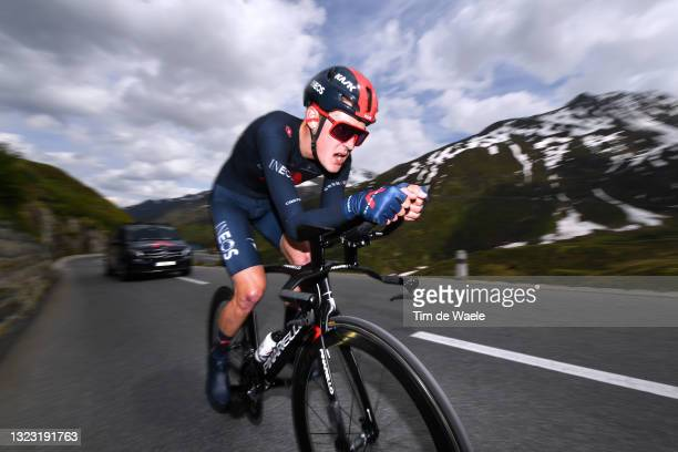 Pavel Sivakov of Russia and Team INEOS Grenadiers during the 84th Tour de Suisse 2021, Stage 7 a 23,2km Individual Time Trial stage from...