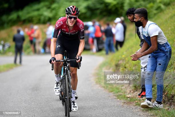Pavel Sivakov of Russia and Team Ineos / Public / Fans / during the 44th La Route d'Occitanie - La Depeche du Midi 2020, Stage 3 a 163,5km stage from...