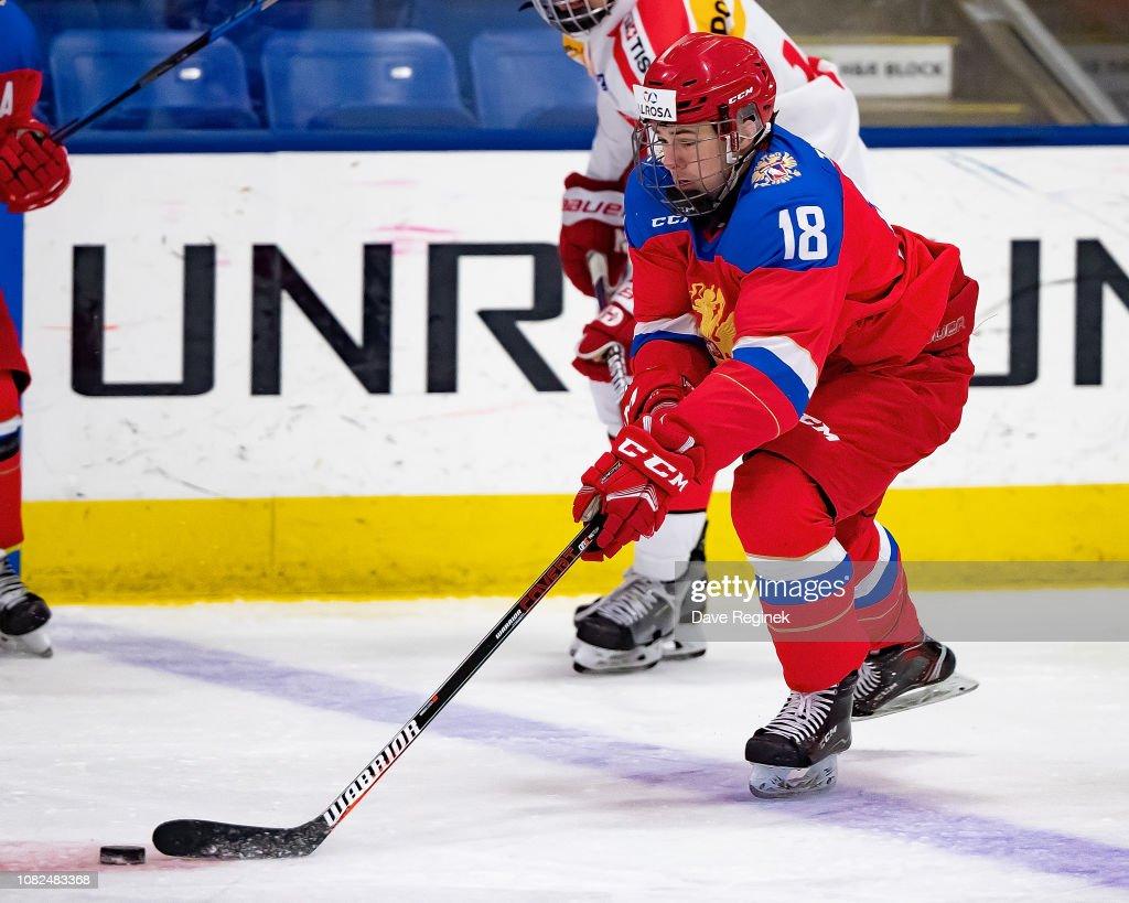 2018 Under-17 Four Nations Tournament - Russia v Switzerland : News Photo