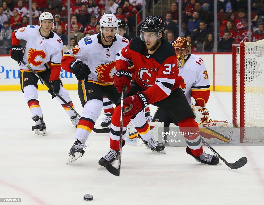 info for 4de78 7891d Pavel Zacha of the New Jersey Devils plays the puck away ...