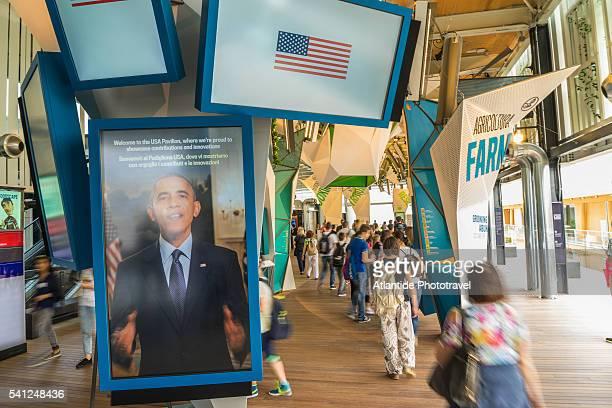 EXPO 2015, Pavilion of USA
