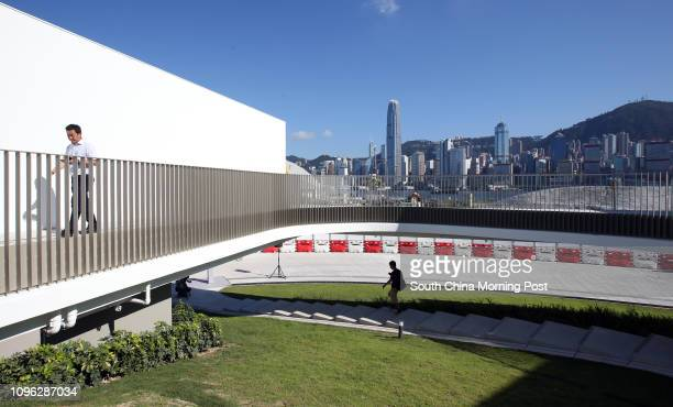 M Pavilion the first permanent venue for exhibitions and art events in West Kowloon Cultural District 22JUL16 SCMP/ Felix Wong