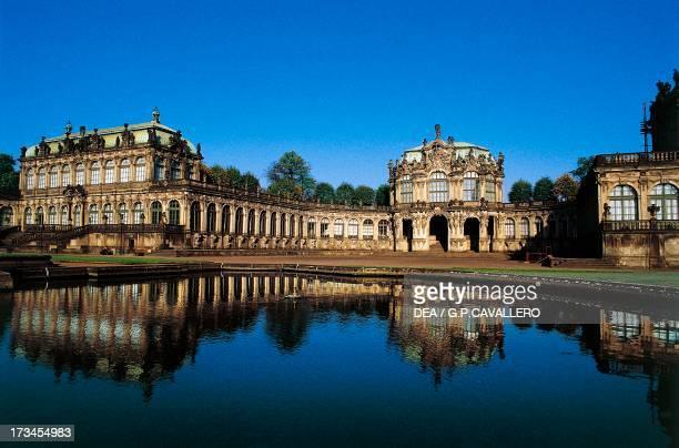 Pavilion Zwinger Palace Dresden Saxony Germany