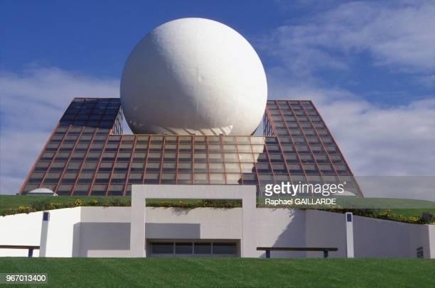 Pavillon du Futuroscope le 25 septembre 1994 à Poitiers France
