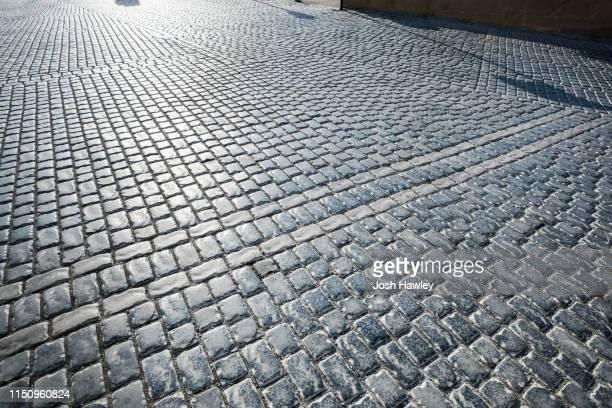 paving  stone  backgrounds - 敷石 ストックフォトと画像