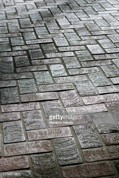 paving stones - 敷石 ストックフォトと画像