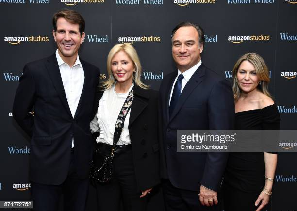 Pavlos Crown Prince of Greece RE MarieChantal Crown Princess of Greece Jim Belushi and Jennifer Sloan attend the 'Wonder Wheel' screening at Museum...