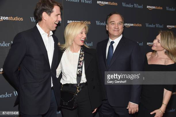 Pavlos Crown Prince of Greece RE MarieChantal Crown Princess of Greece Jim Belushi and Jennifer Sloan attend the 'Wonder Wheel' New York screening at...