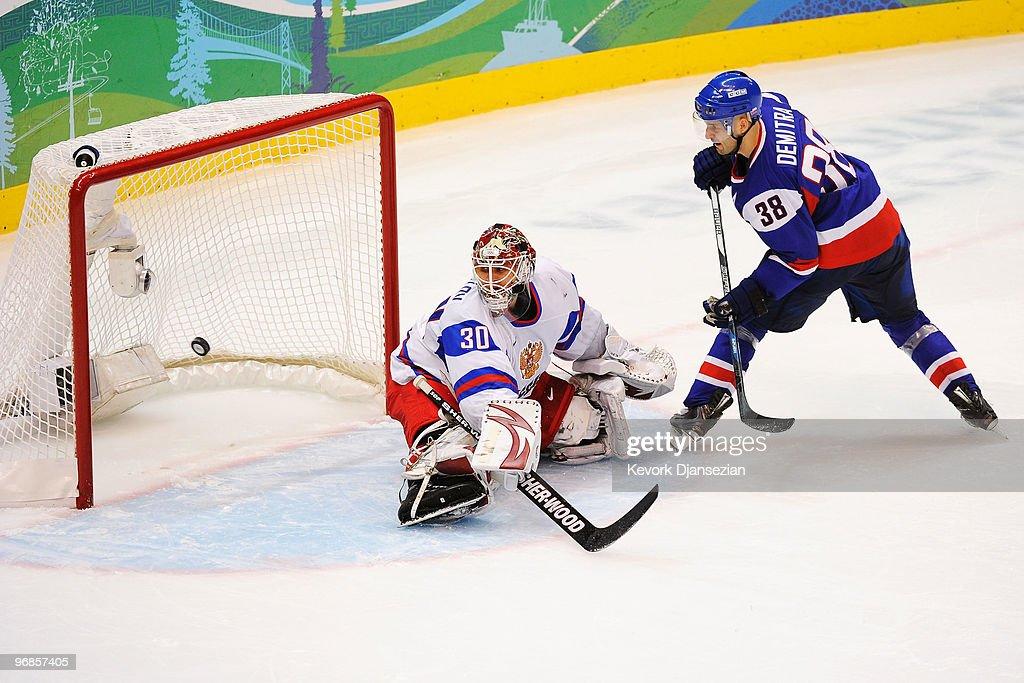 Ice Hockey - Day 7 - Slovakia v Russia : News Photo
