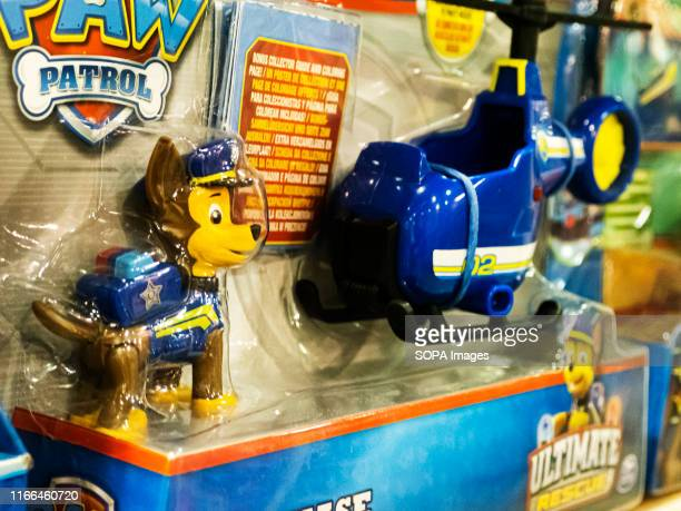 Paw Patrol Ultimate Rescue - Chase Mini Helicopter will help you protect the community of Adventure Bay toy, on a store shelf.